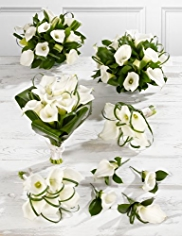 White Wedding Calla Lily Collection 3