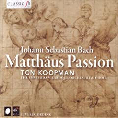 Bach: Matth�us Passion, BWV 244