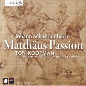 """Matth�us Passion, BWV 244: Recitativo, """"Und da sie den Lobgesang"""""""