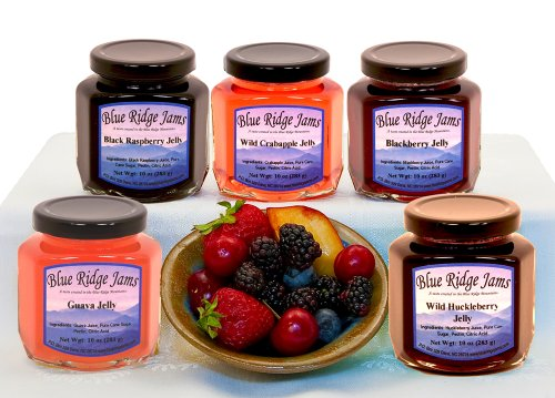 Blue Ridge Jams: Jelly Variety Pack, Set of 6