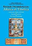 img - for Altaica et Tibetica: Anniversary Volume Dedicated to Stanislaw Godzinski on His Seventieth Birthday book / textbook / text book