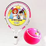 "Le Petit Tennis - ""Baby"" Tennis Racquet 15"" (39cm) Pink with Pink Inflatable Ball (For Ages 1-2) NEW"