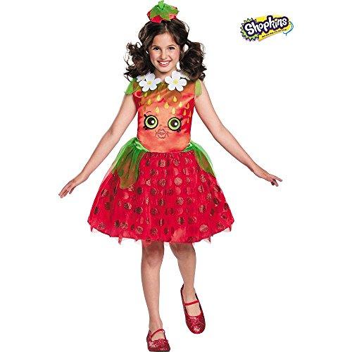 Shopkins Strawberry Classic Halloween Costume
