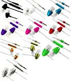 Cellmax Motorola Moto G Dual SIM, Moto G , Moto X , DROID Ultra, DROID Maxx , DROID Mini , RAZR D3 XT919 Top Durable Quality Stereo In Ear Handsfree Headphones Earphones With On / Off Switch Button Mic Remote Control - Various Colour (Silver)