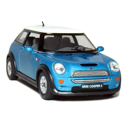 "5"" Mini Cooper S 1:28 Scale (Blue)"