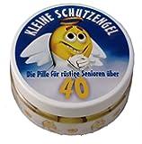 """""""Kleine Schutzengel"""" - Pillen zum 40. Geburtstag (Traubenzucker)"""