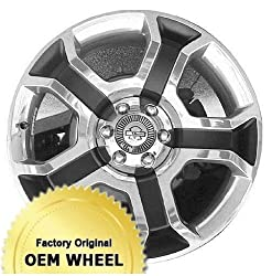 FORD F150 22X9 5 SPLIT SPOKES Factory Oem Wheel Rim- POLISHED FACE WHITE – Remanufactured