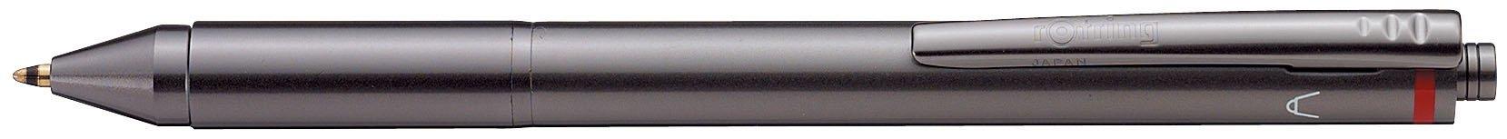 rotring フォーインワン ボールペンクロ・アカ・アオ+ペンシル0.5mm 502-700F