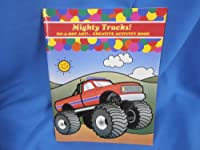 Mighty Trucks Activity Book by Do-A-Dot Art