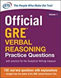 img - for Official GRE Verbal Reasoning Practice Questions book / textbook / text book