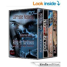 Immortal Destiny Series Books 1,2,3 & 4 - Vampire Romance / Paranormal Romance