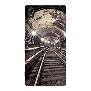 Ajay Enterprises Train Track Back Case Cover for Sony Xperia Z1