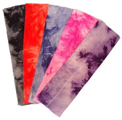 kenz-laurenz-cotton-lycra-tie-dye-stretch-headbands-5-pack-cotton-stretch-headbands