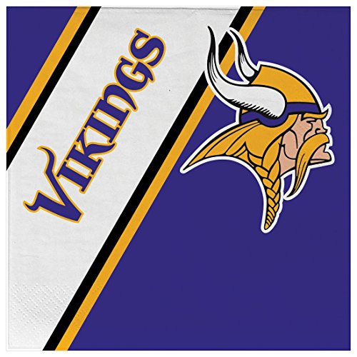NFL MN Vikings Disposable Napkins (20-Pack)