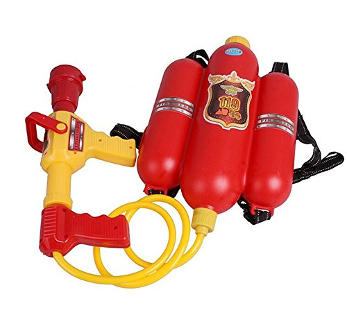 Bininbox Fire backpack Water Gun Toys for Children Pressure Playing in the Beach (Fire Hose Super Soaker compare prices)