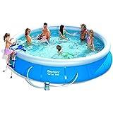 Bestway 57124GS Fast Pool Set mit Filterpumpe GS, 457 x 91 cm