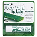 Aloe Vera Lip Balm with Tea Tree & Lysine 4g