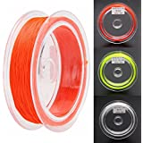 Generic Green : 1Pc Fly Fishing Line White/Green/Red Yards Braided Wire Fly Fishing Backing Line 20LB Fishing...