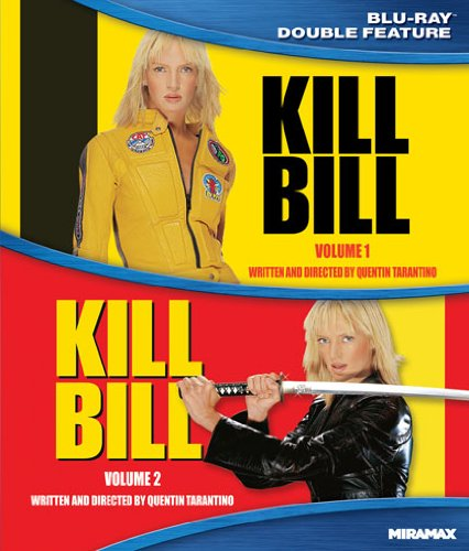 Kill Bill, Vol. 1 / Kill Bill, Vol. 2 (Double Feature) [Blu-ray]
