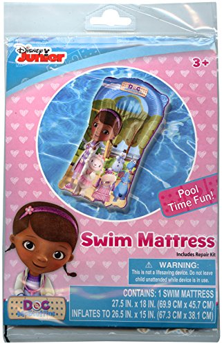 Disney Junior Doc McStuffins Pool Swim Mattress - 1