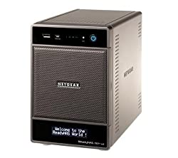 NETGEAR ReadyNAS NV+ v2 Network Attached System (NAS) - without hard drive (RND4000-200EUS)