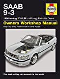 Saab 9-3 93 2.0 2.0T 2.3 2.3T Turbo Aero SE 2.2TiD 1998 to Aug 2002 Haynes Manual