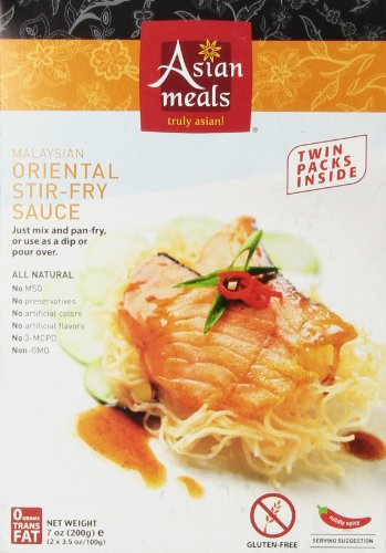Asian Meals Stir Fry Sauce, Malaysian  7-Ounce Boxes (Pack of 6) (Stir Fry Kit compare prices)
