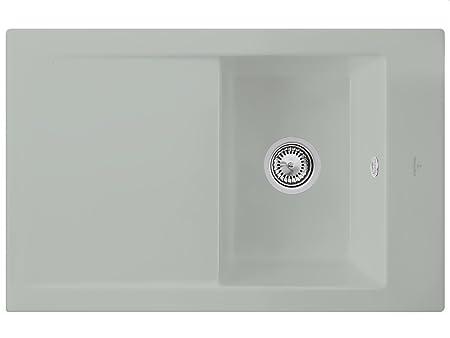 Villeroy & Boch Timeline 45 Fossil Silver Edition Sink Ceramic Sink