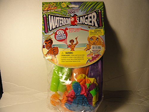 Waterbomb Slinger with 60 Water Bombs