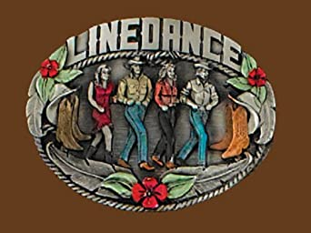 Linedance Belt Buckle
