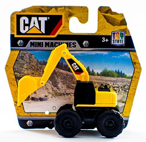 Caterpillar CAT Construction Mini Machines Backhoe (Toystate Mini Machines compare prices)