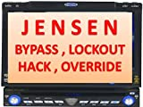 Jensen automatic video DVD Navigation bypass Hack Lockout VM9214 VM9414 VM9424 VM9324