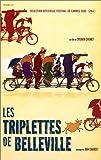 echange, troc Les Triplettes de Belleville [VHS]