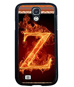 Fuson 2D Printed Alphabet Z Designer back case cover for Samsung Galaxy S4 - D4217