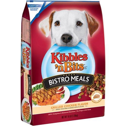 Pet Bistro Meals Dog Food, Grilled Chicken Flavor, 16 Lb, Oven Roasted