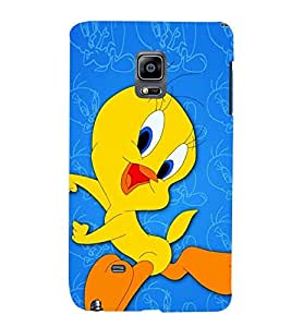 PRINTSWAG TWEETY Designer Back Cover Case for SAMSUNG GALAXY NOTE EDGE/NOTE4 EDGE DUAL