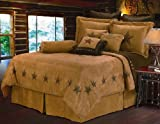 HiEnd Accents Luxury Star Bedding, King