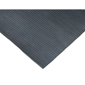 Ramp-Cleat Non-Slip Outdoor Rubber Mats - 3 MM thick x 3FT Wide Rolls