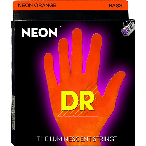 Dr Strings Nob5-45 Nickel Coated Bass Guitar Strings, Medium