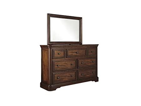 Leximore Dark Brown Dresser