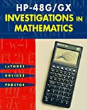 img - for HP-48G/GX INVESTIGATIONS in MATHEMATICS book / textbook / text book