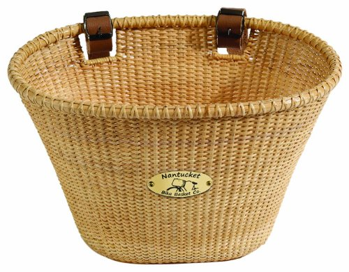 Nantucket Bike Basket CompanyLightship Collection Oval Adult Bike Basket (Natural)