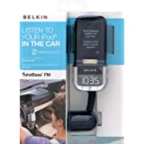 Belkin F8Z176eaB TuneBase FM with ClearScan - Digital Player Car Holder / FM Transmitter / Charger - Blackby Belkin