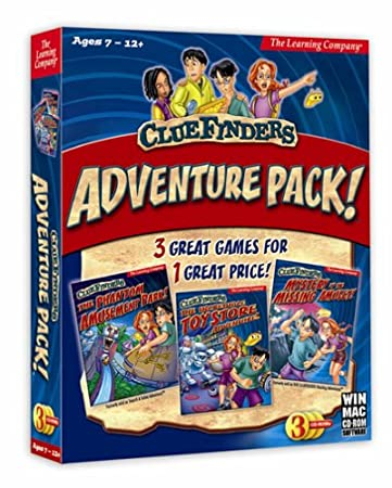 Cluefinders Adventure Pack