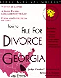 How to File for Divorce in Georgia, 4th ed