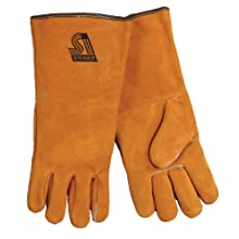 Steiner 02120 Split Cowhide Leather Welding Gloves, Large (Pack of 1 Pair)