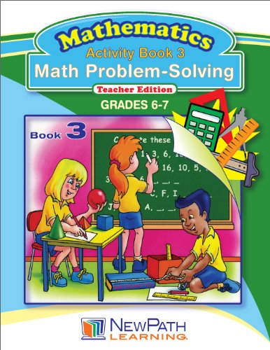 NewPath Learning Math Problem Solving Series Reproducible Workbook, Grade 6-7 - 1