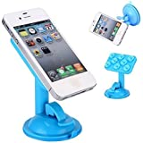 Blue Genuine Best In Class 360 Degree Rotatable Universal Car Tablet Holder Cradle For Smart Phones Mobile Phones...