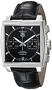 TAG Heuer Men's CAW2110.FC6177 Monaco Calibre 12 Automatic Chronograph Watch