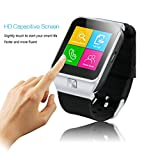 ZGPAX Bluetooth V3.0 Smart Watch Unlocked SIM Phone Watch Smart Bracelet Sync Call Music Reminder Anti-lost Capacitive Touchscreen Phone Mate for iphone 5S 5C Samsung Galaxy S5 Note 3 HTC One LG G3